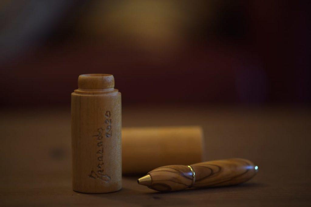 Penne in legno - Ulivo